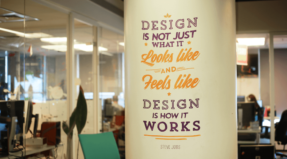 Wix Office Art - Steve Jobs Quote