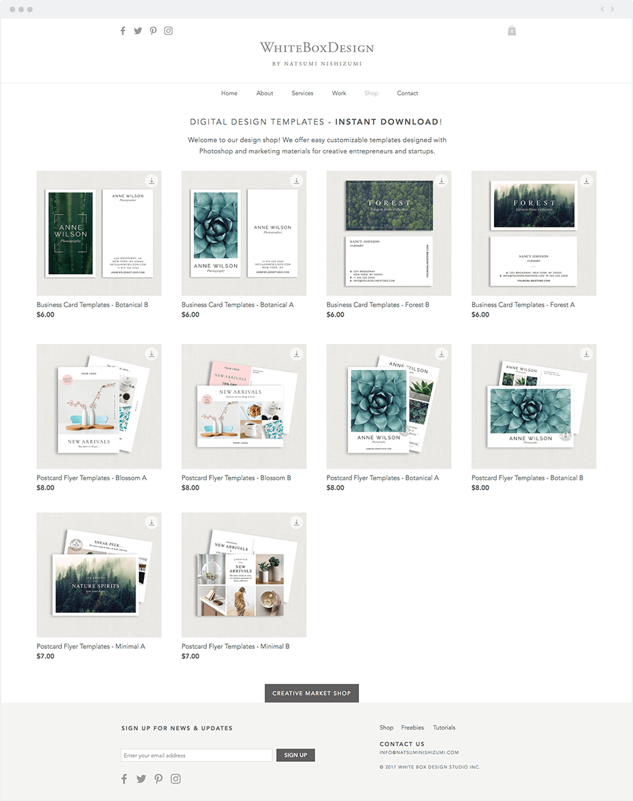 9 unique digital products sold by wix users for Can i download wix templates