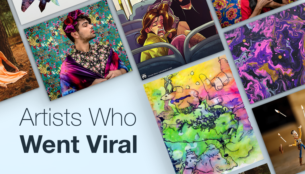 10 viral wix artists from around the world for Art from around the world