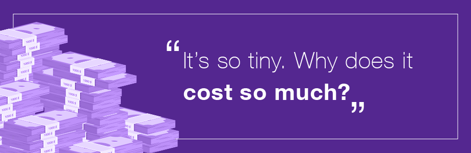 Designer problems - why does it cost so much?