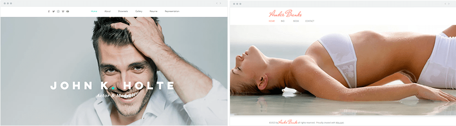 2 Modeling Portfolios created with Wix