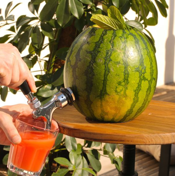 Watermelon pitcher for labor day picnic