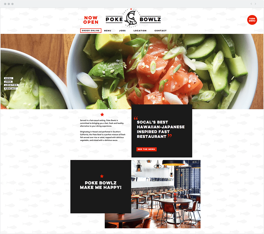 Web design tips: keep your homepage free of clutter
