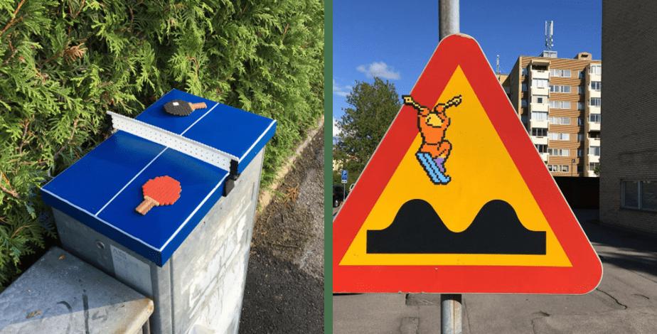 Pappas Pärlor: Street Signs