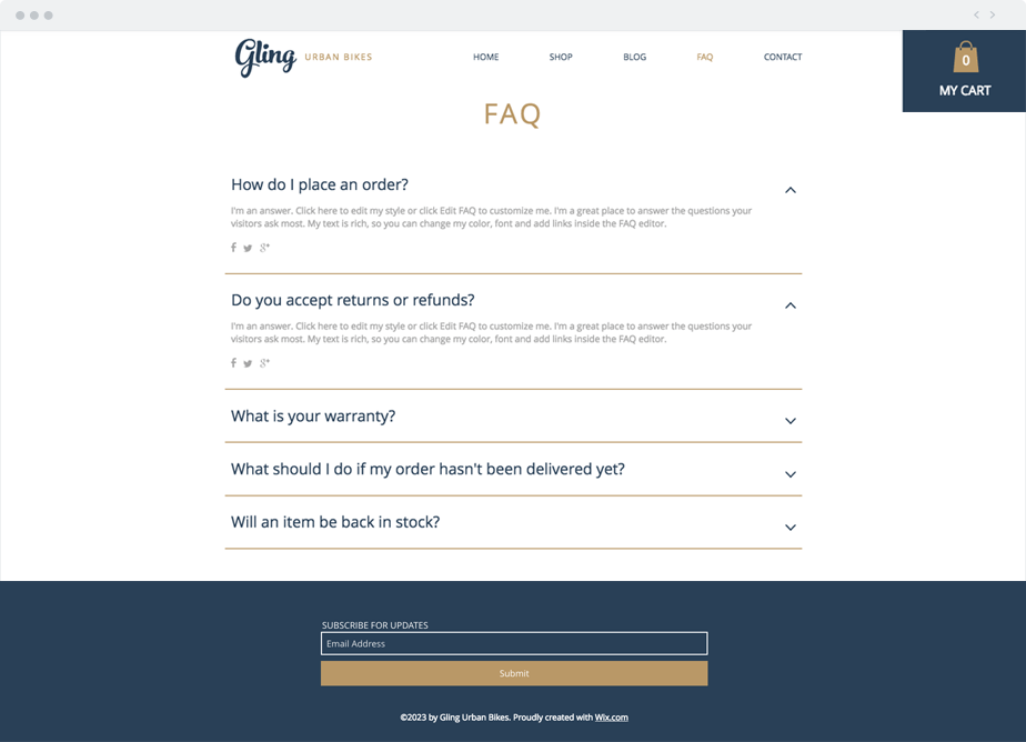 How to Create a Killer FAQ Page - Frequently Asked Questions page