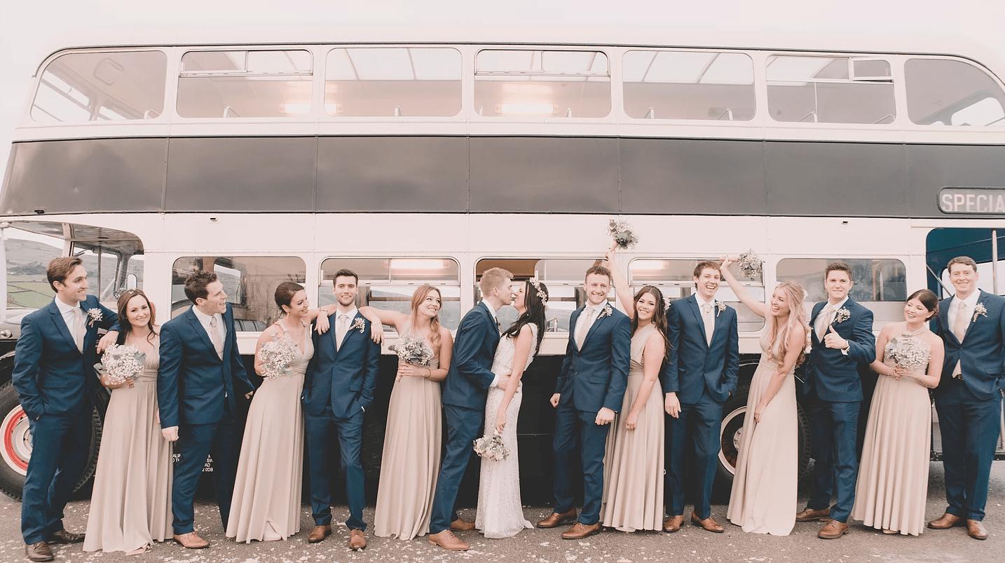 Emily Olivia Wix Wedding Photographer Group Shot