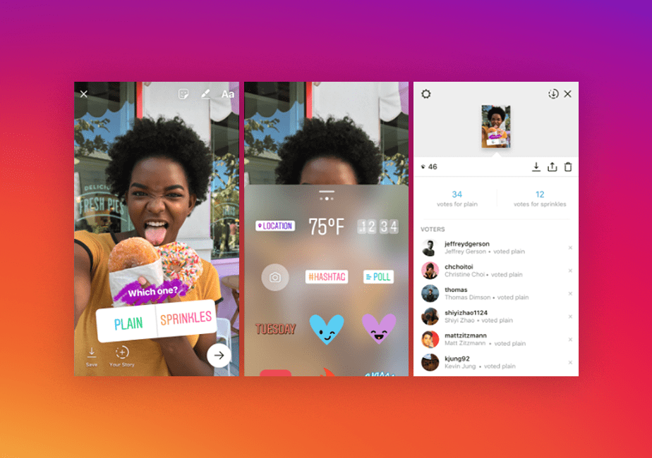 Wix Instagram Feed App: Take polls in your Stories
