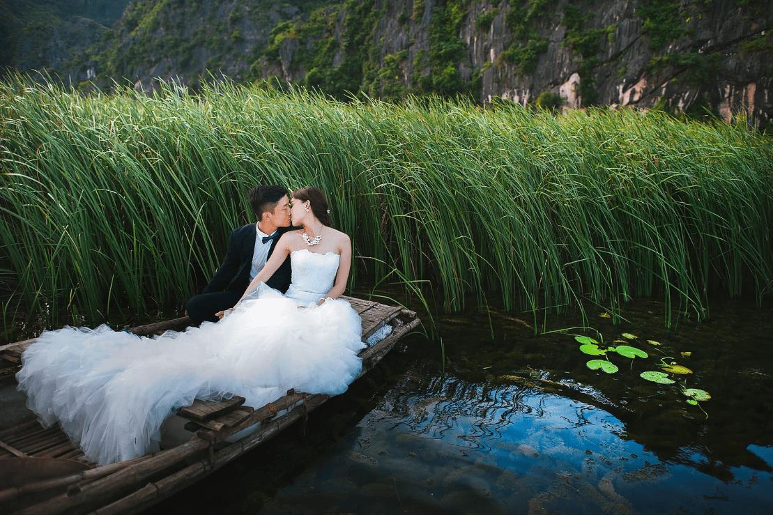 Thai Pham Wix Wedding Photographer Tall Grass