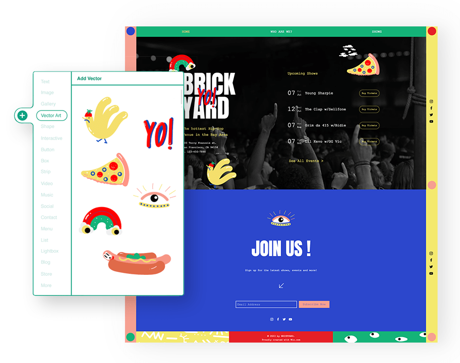 How To Add Food Menu To Website In Wix