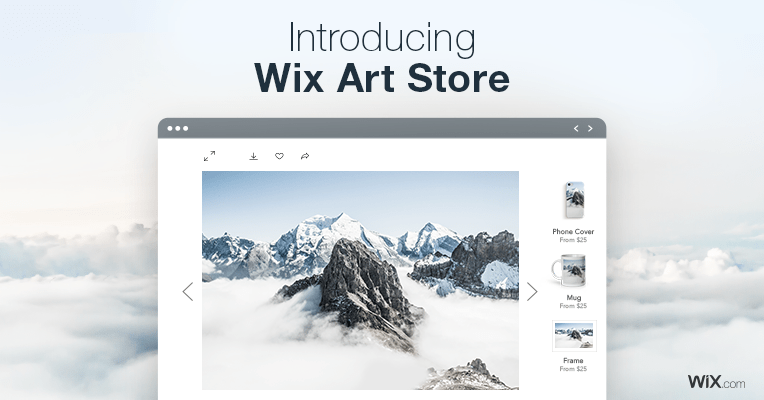 Wix art store the best way to sell your art online for Best way to sell paintings online
