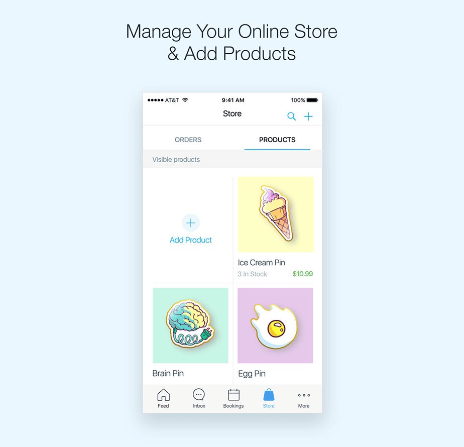 Wix Mobile App: Manage your store