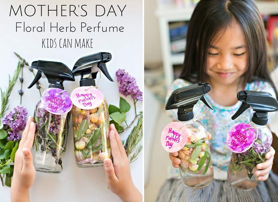 Wix Mother's Day Gift Idea: Pinterest Inspired Floral Herb Perfume