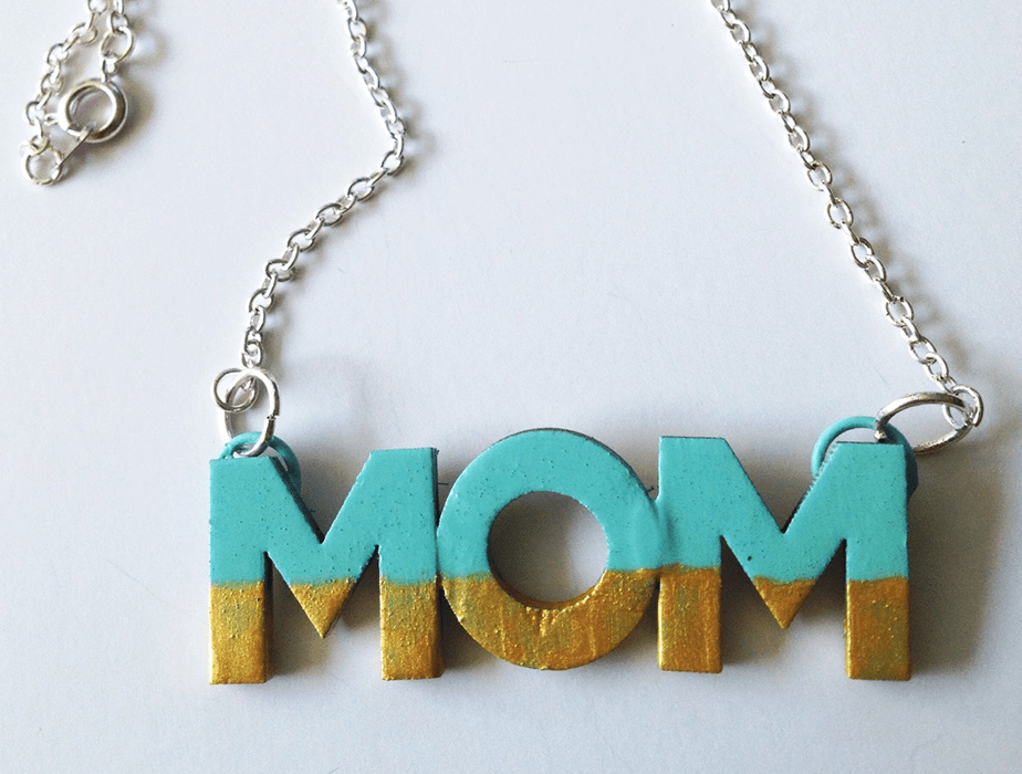 Wix Mother's Day Gift Idea: Pinterest Inspired Homemade Necklace