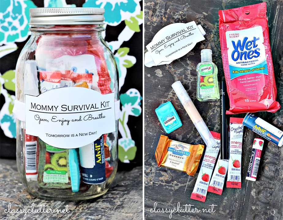 Wix Mother's Day Gift Idea: Pinterest Inspired Mommy Survival Kit
