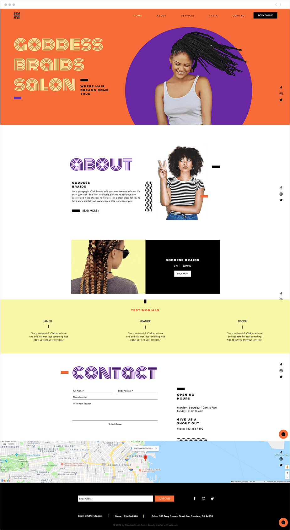 Repetition: 7 Principles of Design Applied to Websites