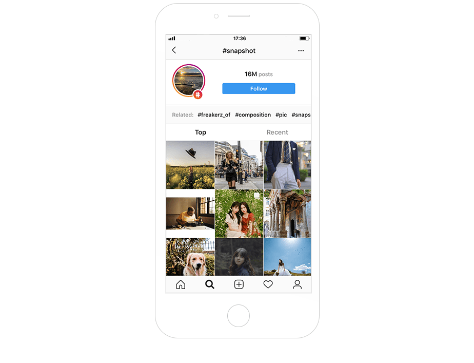 Most popular Instagram hashtags for photography