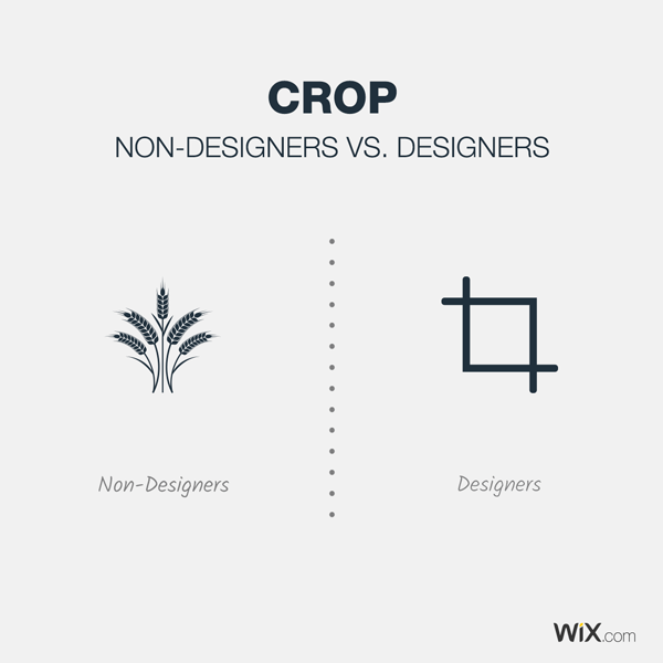 graphic design jokes about cropping
