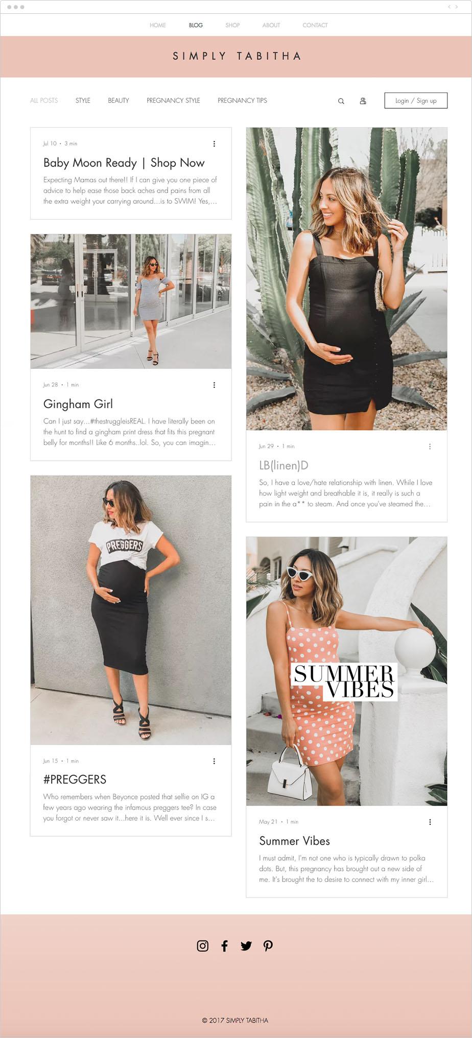 Simply Tabitha Pregnancy Blog