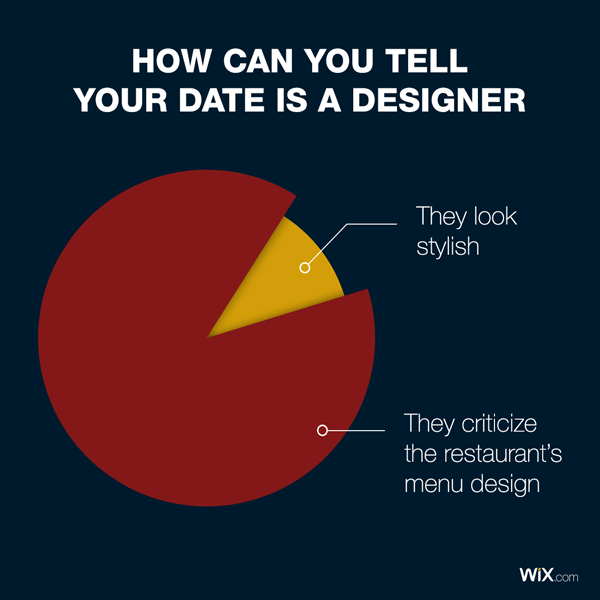 graphic design jokes about dating a designer