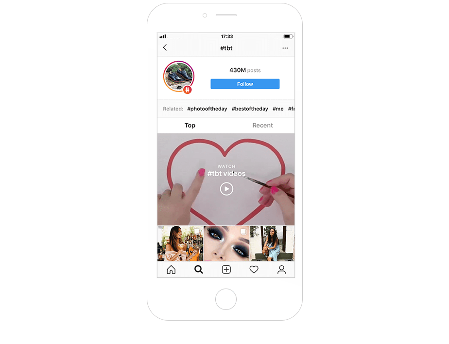 Most popular Instagram hashtags in general