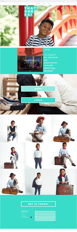 Wix-modelportfolio Kai Williams