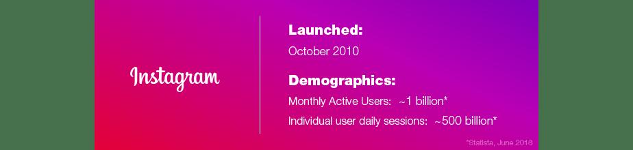 Social Media Marketing Guide Instagram demographics