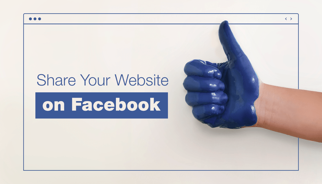 how to share your website s link on facebook