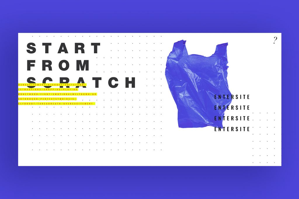 Start from scratch website from Wix Designers