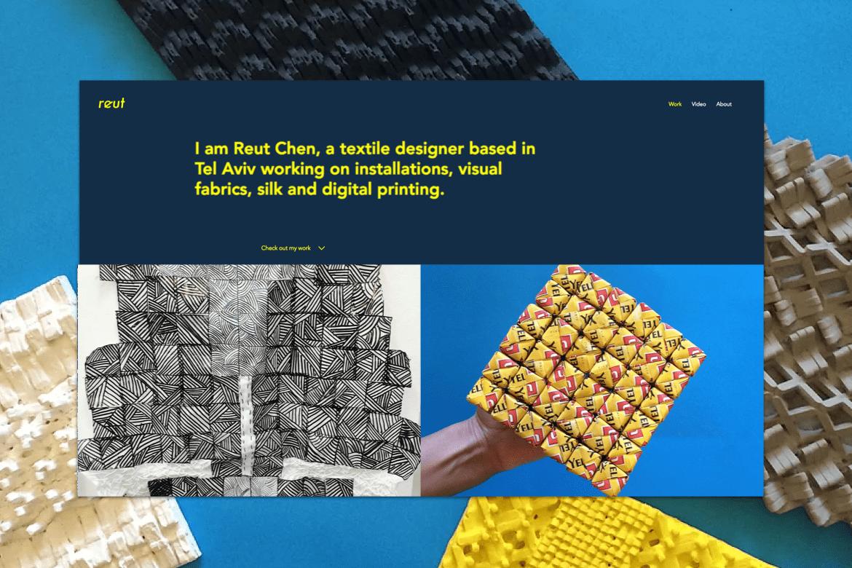 Portfolio inspiration for a textile designer