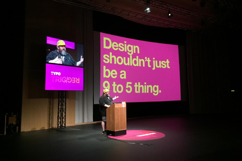 Graphic designer finding his passion through Typo Berlin