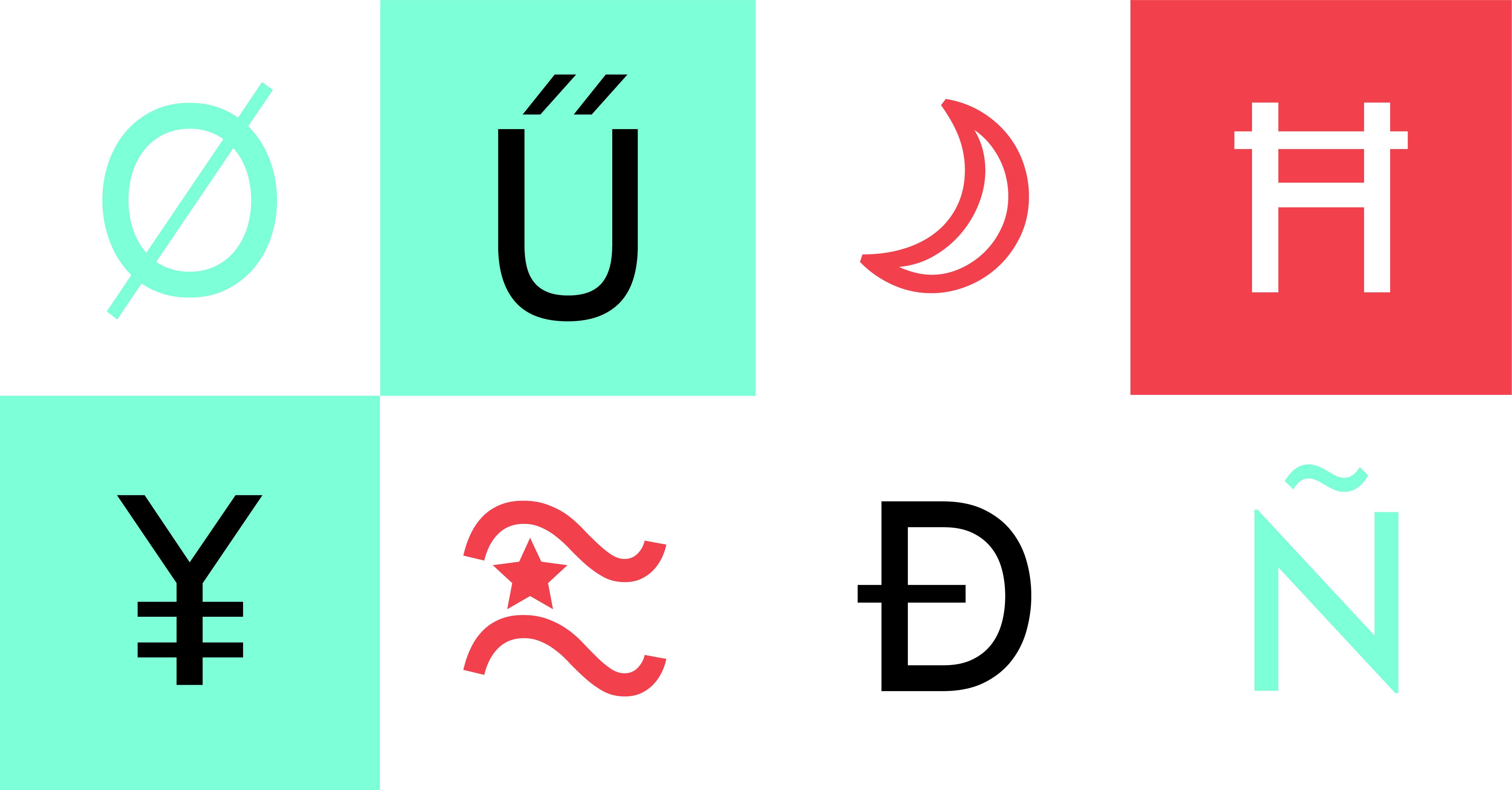 Multilingual Font Design: Languages of the World, Unite!