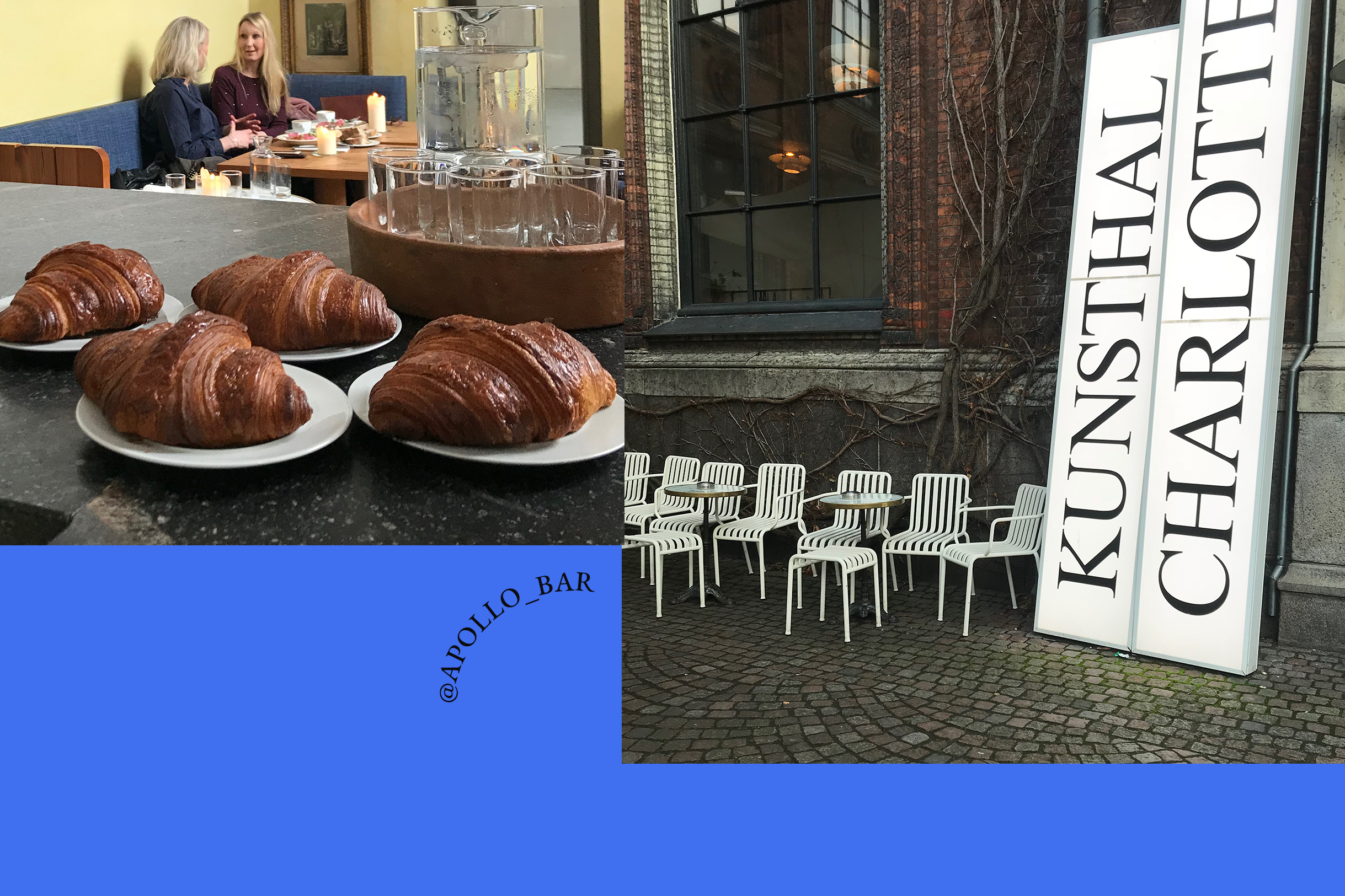 Apollo Bar & Kantine croissants in Copenhagen
