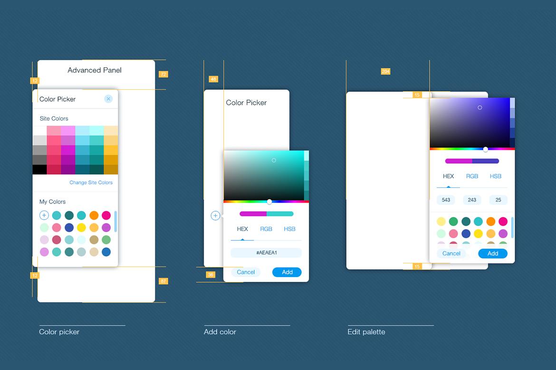 Planning panel position in UI/ UX design