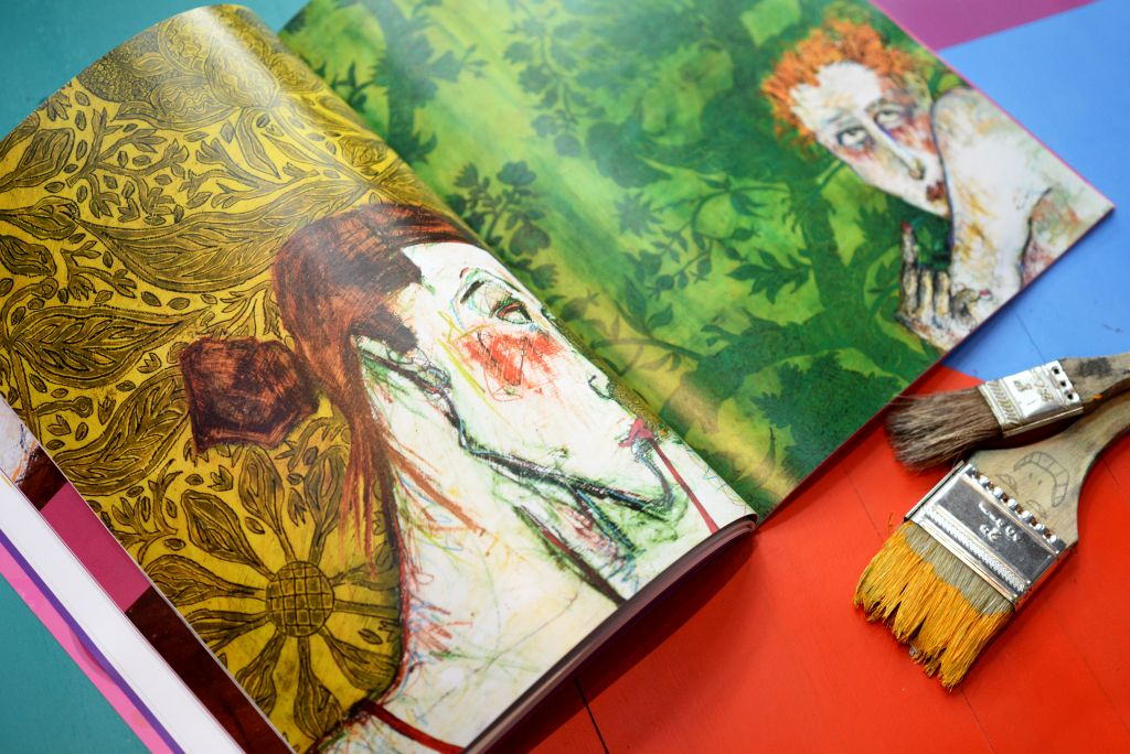 Artist Nancy Rosen's paintings featured in PM Megazine