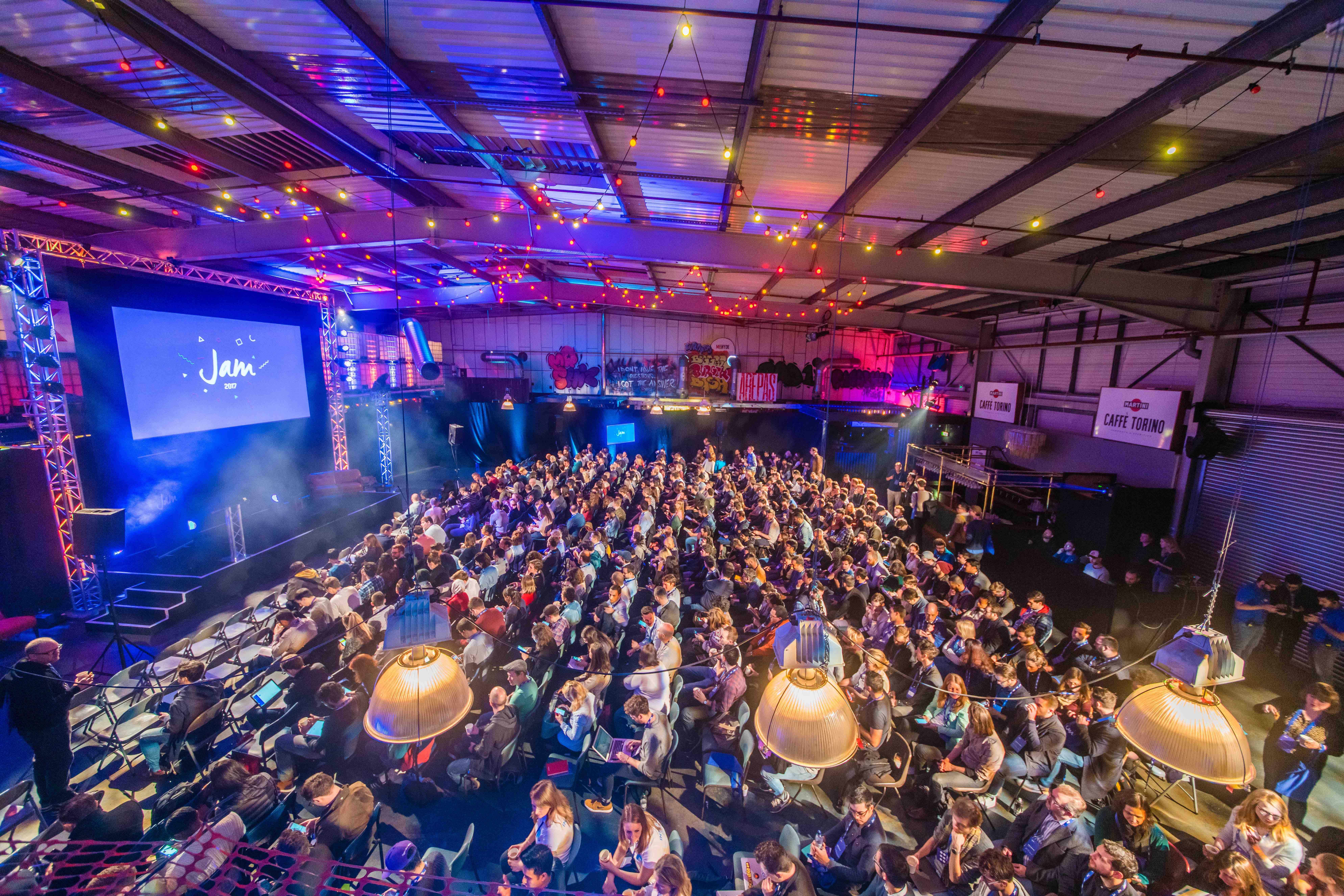 JAM design event, London
