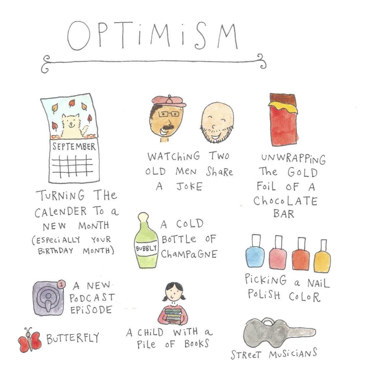 Optimism illustration by Mari Andrew