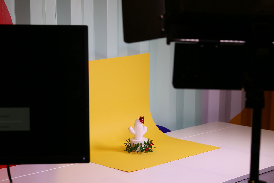 Photoshoot for holiday greeting cards