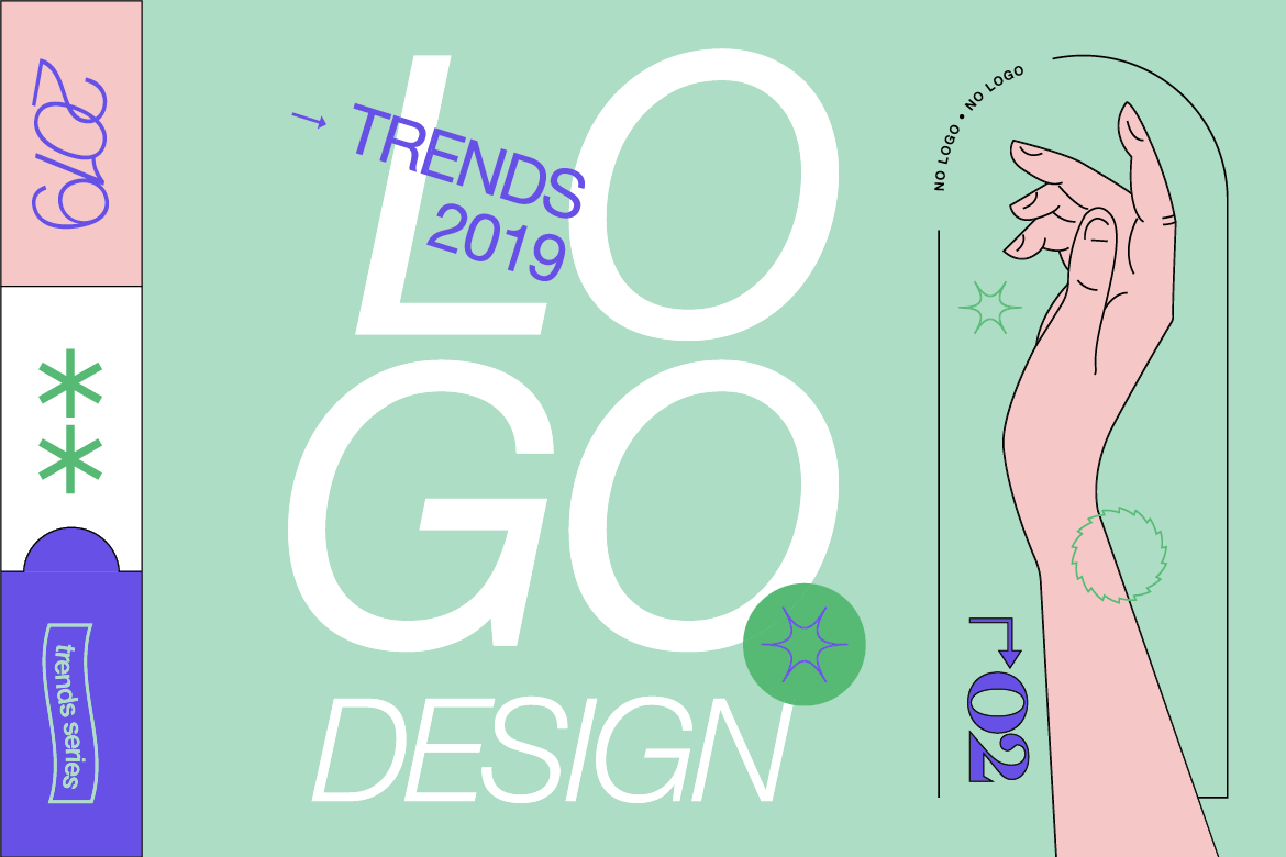 17b6c7acdf The Logo Trends to Look out for in 2019 for Designers