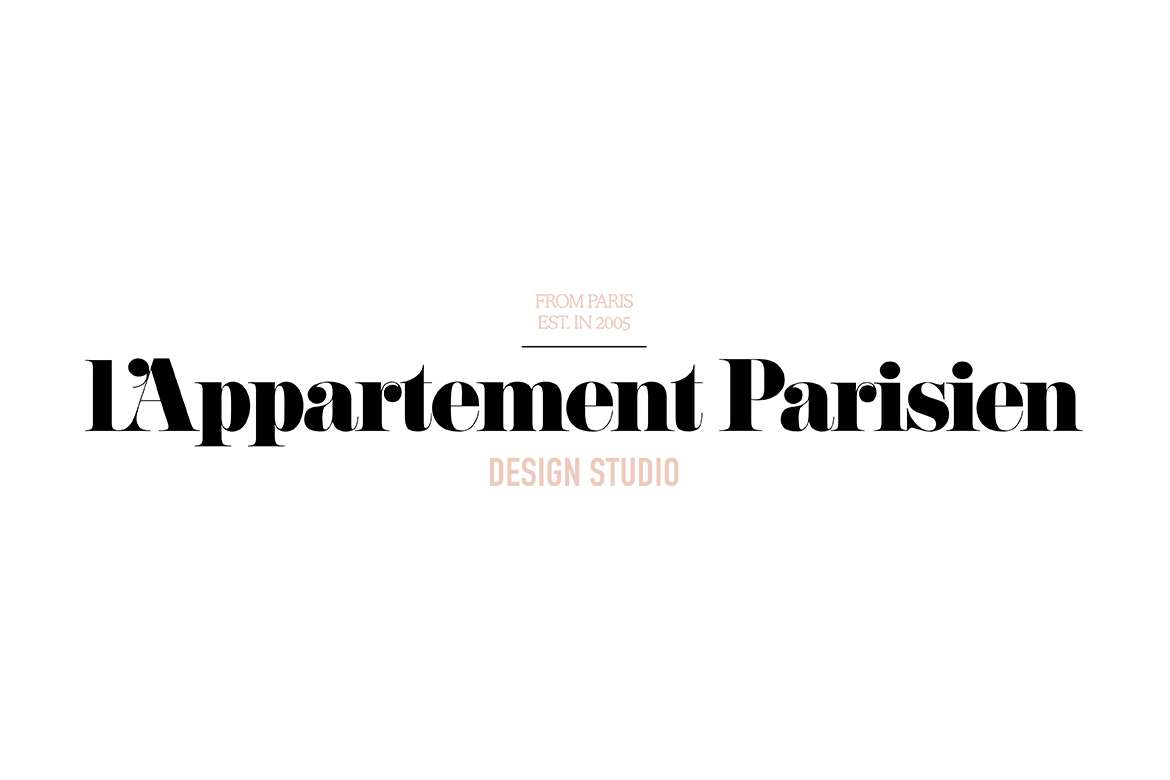 Logo design trends 2019, L'Appartement Parisien