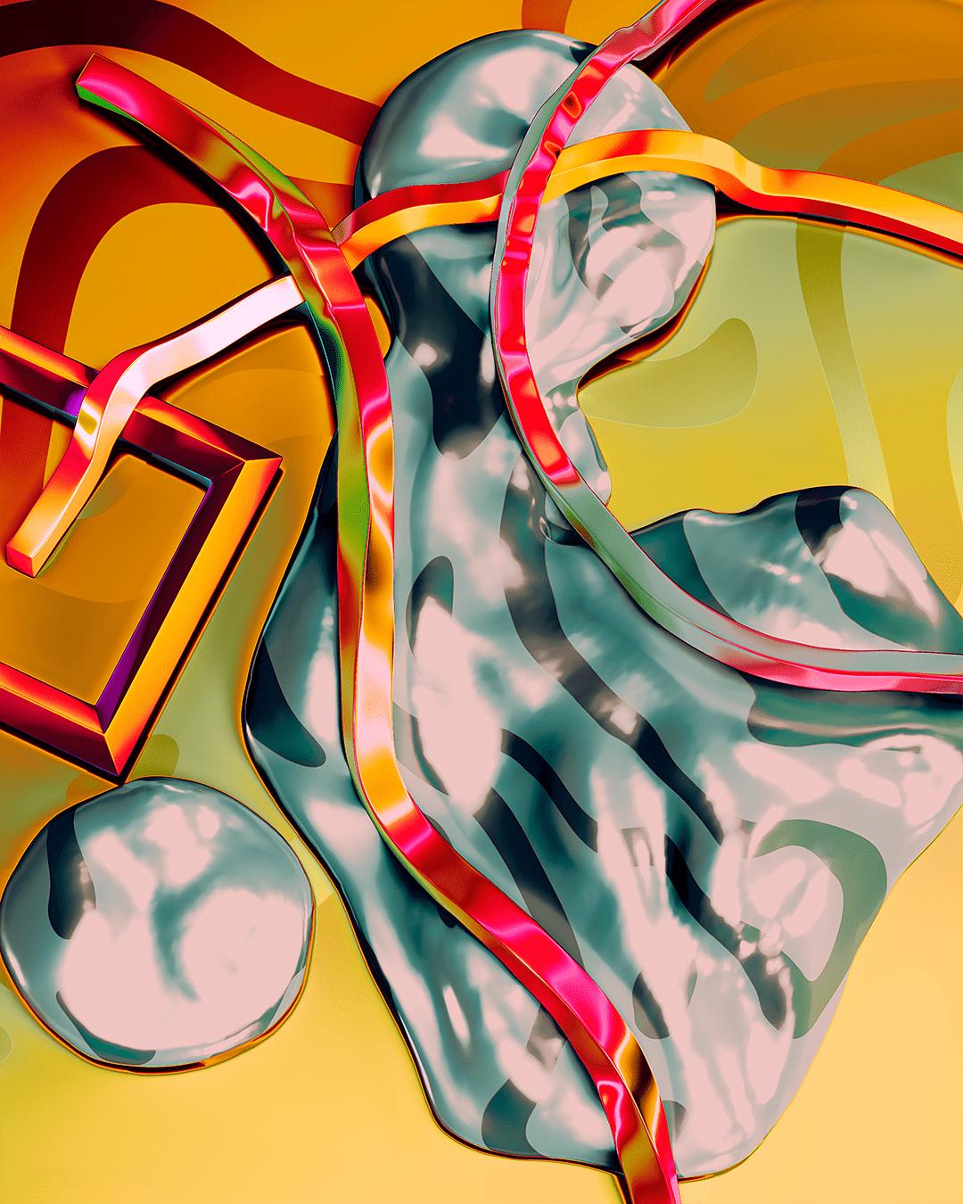 Neon metallic colors