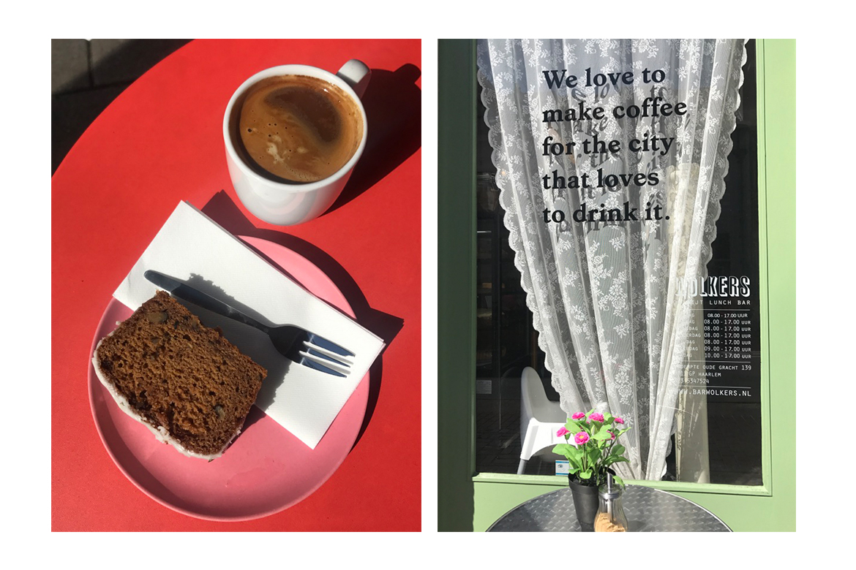 Designers Abroad: Amsterdam, coffeeshop