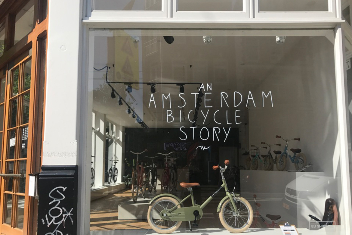 An Amsterdam Bicycle Story, Designers Abroad: Amsterdam