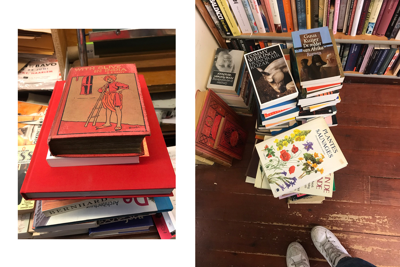 Designers Abroad: Amsterdam, book shop