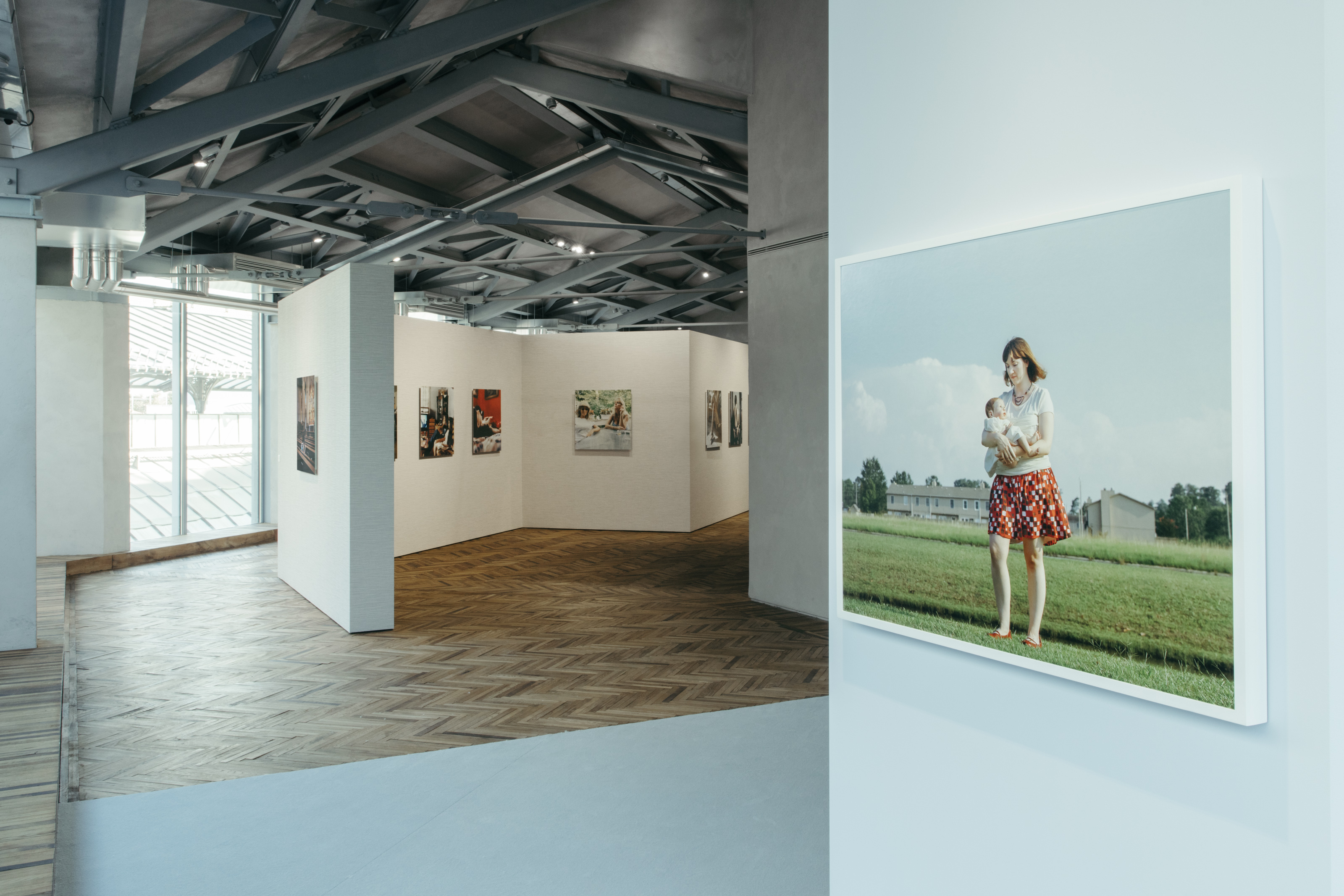 """Exhibition view of """"Surrogati. Un amore ideale"""" Osservatorio Fondazione Prada"""