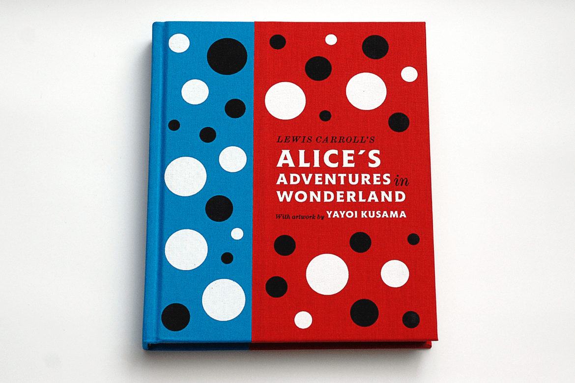Lewis Carroll's Alice's Adventures in Wonderland with artwork by Yayoi Kusama