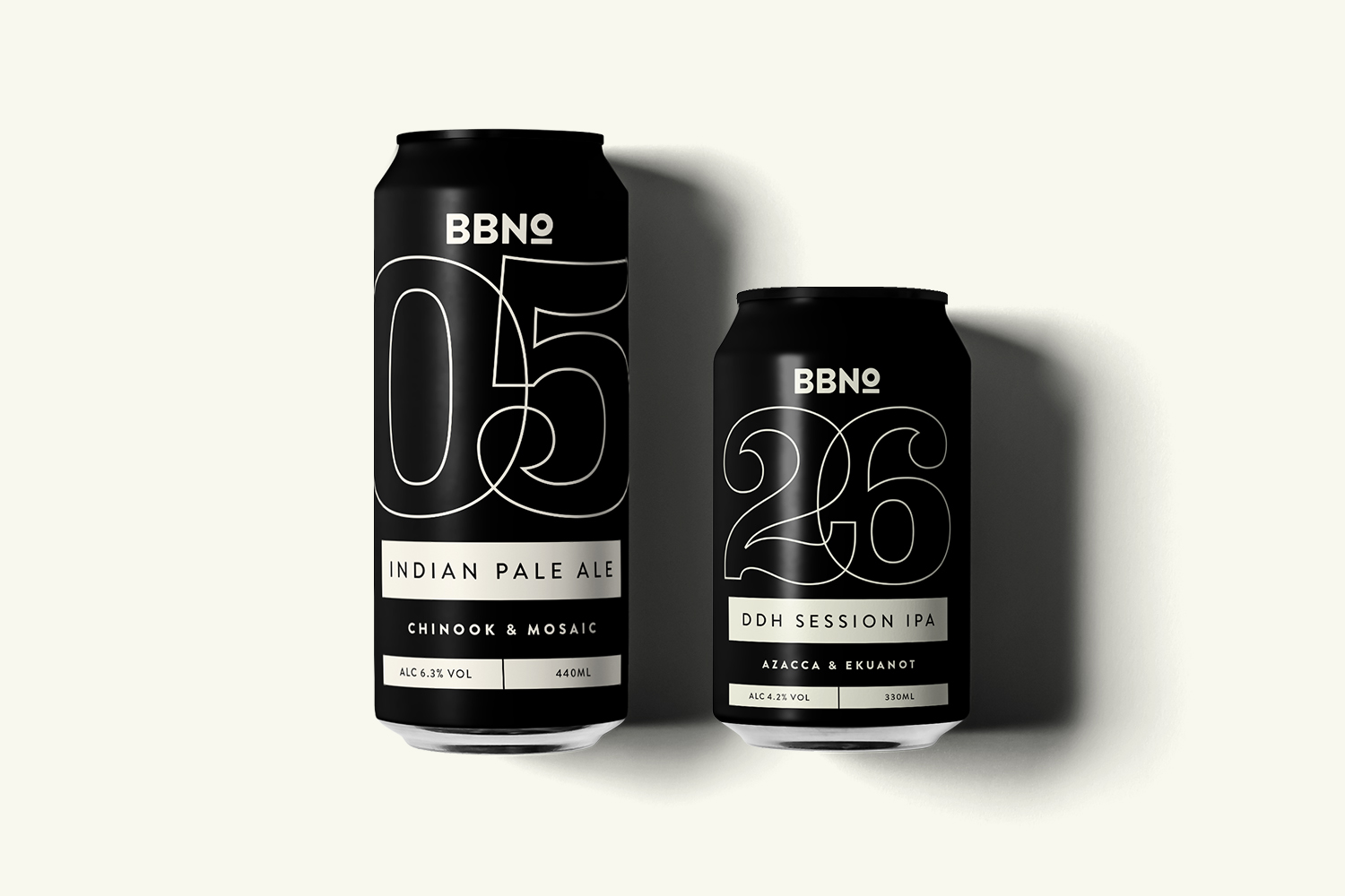 Brand identity for Brew By Numbers by Marina Willer, Pentagram.