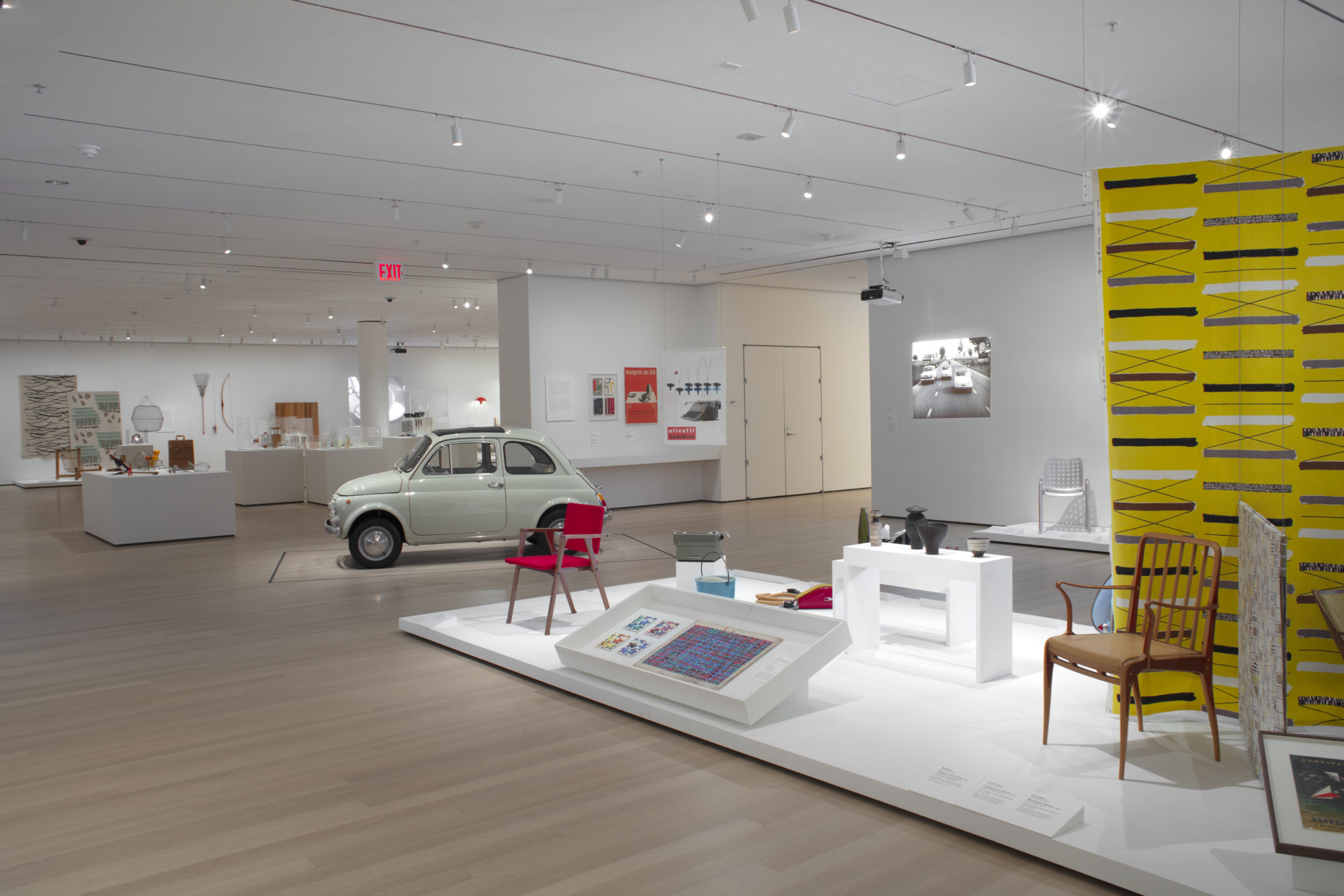 Installation view, The Value of Good Design at the MoMa