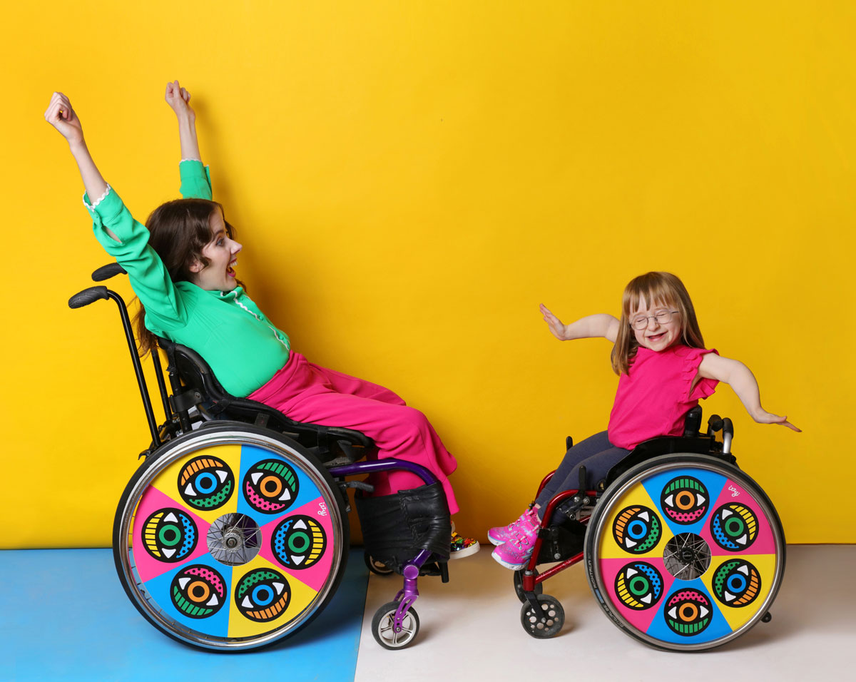 Wheel cover design by Craig and Karl, for Izzy Wheels