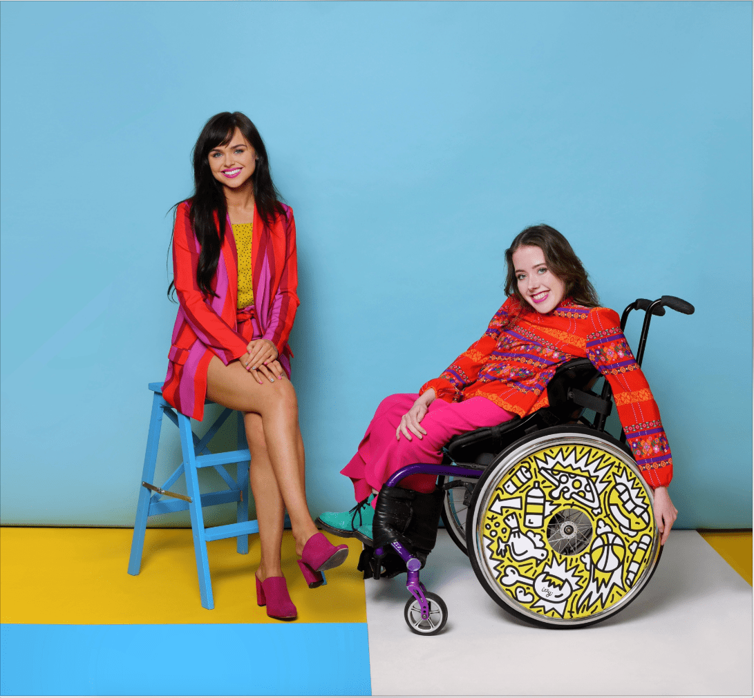 Ailbhe and Izzy Keane, Founders of Izzy Wheels wheel covers