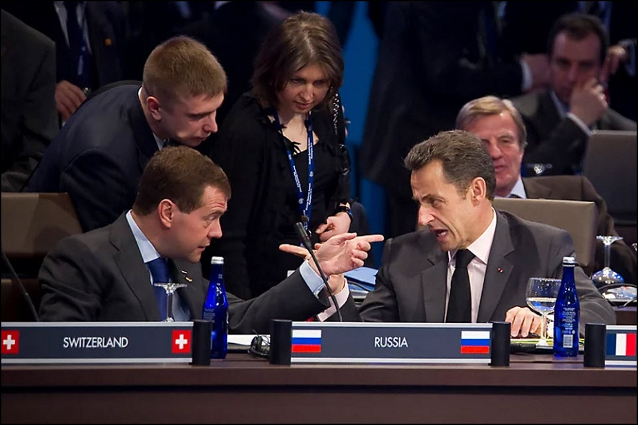 Sarkozy and Medvedev - Wix Photography